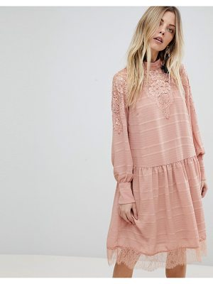Y.a.s Lace Detail Skater Dress