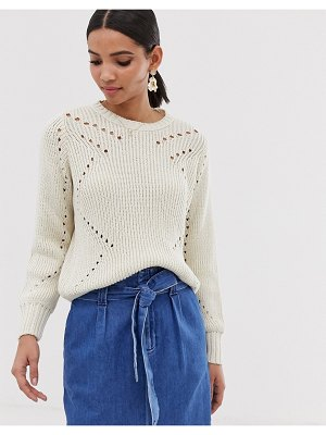 Y.a.s lightweight cable knit sweater