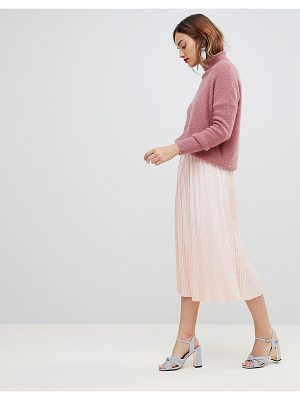 Y.a.s pleated midi skirt
