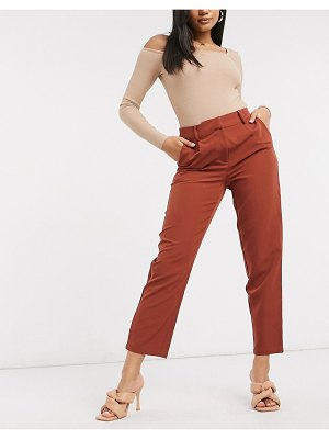 Y.a.s tailored pants in brown