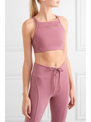 YEAR OF OURS drew cutout stretch sports bra