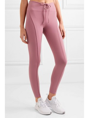 YEAR OF OURS football lace-up stretch leggings
