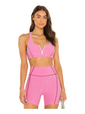 YEAR OF OURS x lindsey harrod zip front sports bra