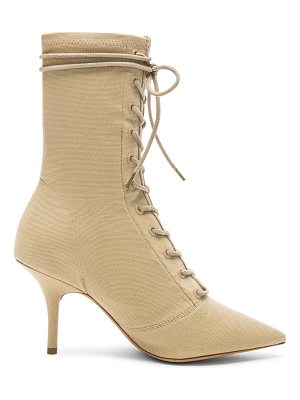YEEZY Season 6 Stretch Canvas Lace Up Ankle Boot