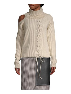 Yigal Azrouel braided turtleneck sweater