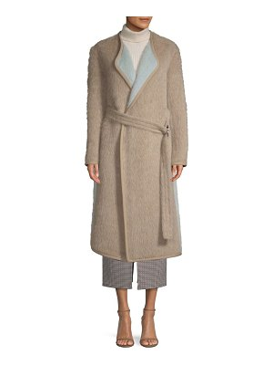Yigal Azrouel reversible belted alpaca coat