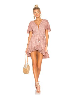 Young Fabulous & Broke Eyelet Costa Mini Dress