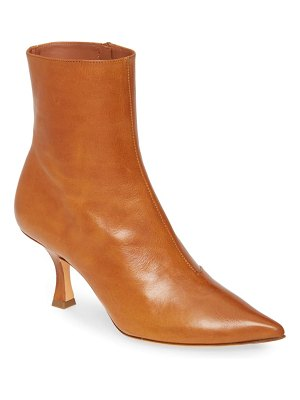 Y/PROJECT calfskin leather ankle boot