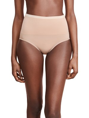 Yummie by Heather Thomson ultralight seamless brief with lace insert