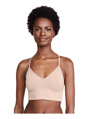 Yummie by Heather Thomson ultralight seamless lace back bralette