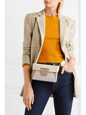 Yuzefi lola color-block textured-leather belt bag
