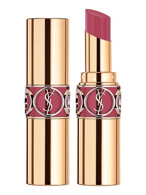 Yves Saint Laurent rouge volupte shine oil-in-stick lipstick balm in rose loulou at nordstrom