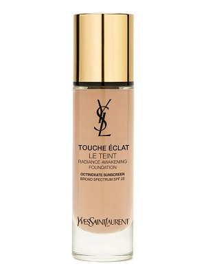 Yves Saint Laurent touche eclat le teint foundation spf 22