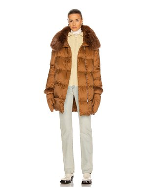 Yves Salomon puffer coat