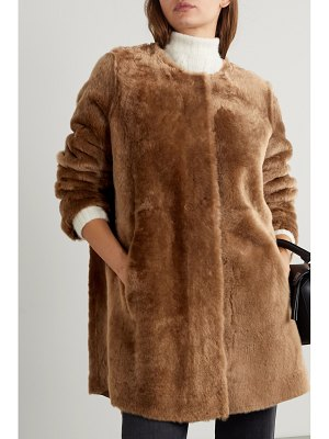 Yves Salomon reversible hooded shearling coat