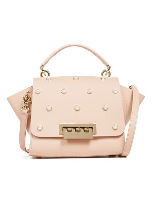 ZAC ZAC POSEN Eartha Imitation Pearl Top Handle Cross Body Bag