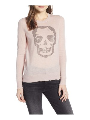 Zadig & Voltaire miss cp skull cashmere sweater