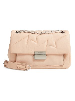 Zadig & Voltaire ziggy quilted leather shoulder bag