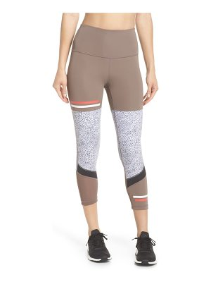 Zella senso vision high waist crop leggings