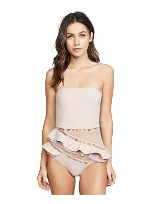 Zimmermann bayou frill one piece swimsuit