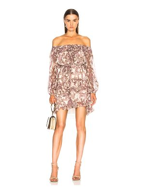 ZIMMERMANN Breeze Off Shoulder Dress