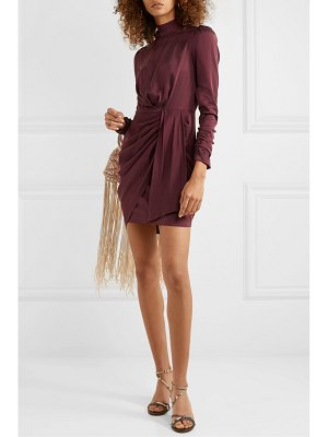 Zimmermann draped silk-blend mini dress