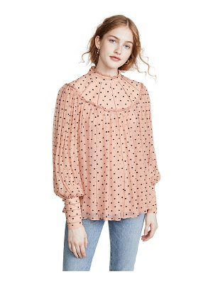 Zimmermann espionage swing yoke blouse
