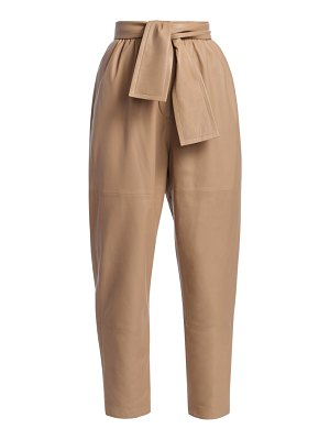 Zimmermann eye spy leather pants
