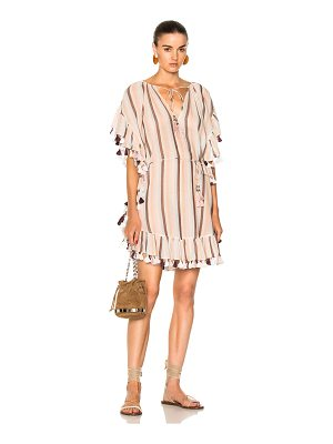 ZIMMERMANN Jasper Stripe Smock Dress
