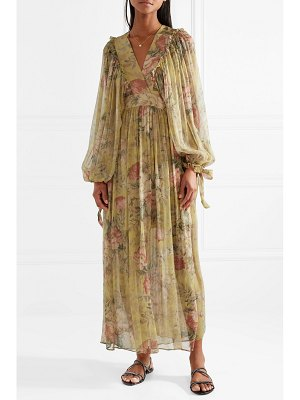 Zimmermann melody floral-print silk-crepon maxi dress