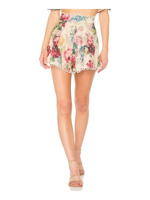Zimmermann Melody High Waisted Short