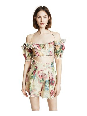 Zimmermann melody off shoulder top