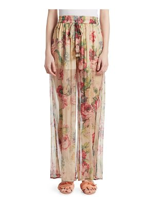 ZIMMERMANN Melody Wide Leg Pants