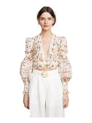 Zimmermann radiate smocked top