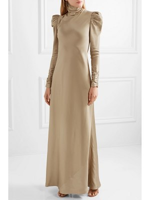 Zimmermann satin-twill maxi dress