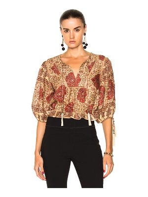 ZIMMERMANN Tulsi Border Day Top