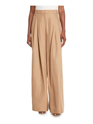 Zimmermann Unbridled Wide-Leg Silk Pants