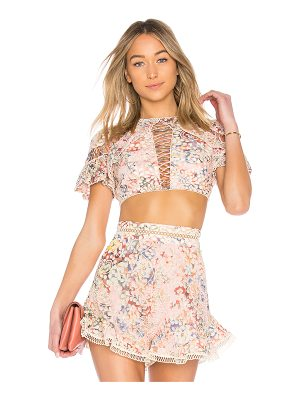 ZIMMERMANN X Revolve Lovelorn Flutter Top