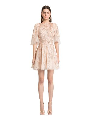 Zuhair Murad Embellished silk tulle dress