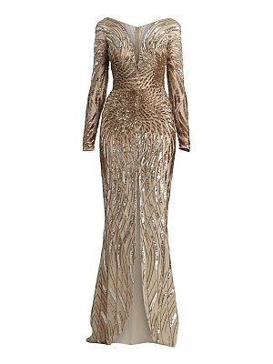Zuhair Murad salamanaco embellished gown